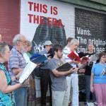 Renaissance Street Singers, MMNY 2010 (Photo: Cécile Mounier)