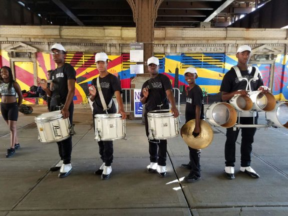Grand Central Community Plaza Performance